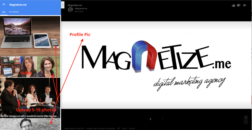 Google My Business Optimization from Magnetize ME